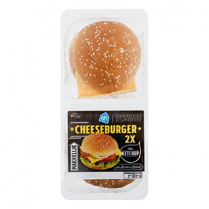 Foto Ah Broodje Cheese Burger