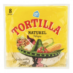 Foto Ah Tortilla Naturel Wraps