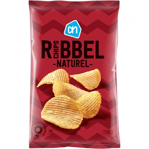 Foto Naturel ribbel chips