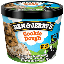 Foto ben&jerry (cookie dough)