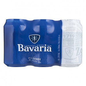 Foto bavaria 6pack 33cl